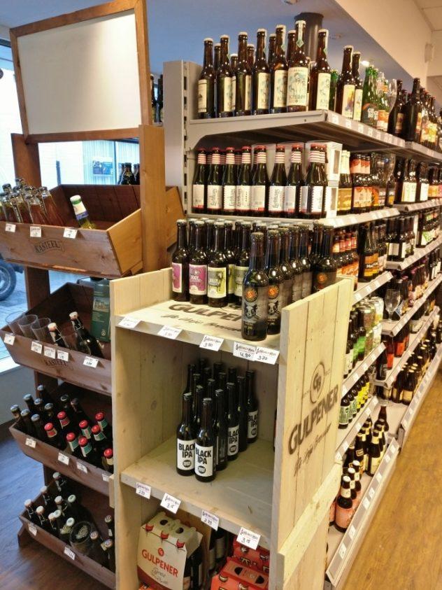 Bierspeciaalzaak in Rijssen, aanbod impressie